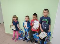 Przedszkolaki nagrodzone