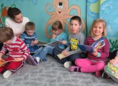 Literackie czwartki w przedszkolu